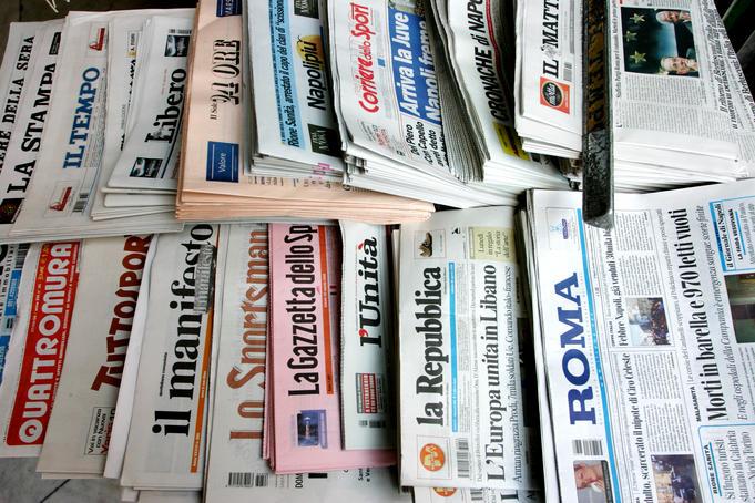 Italiaanse kranten